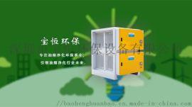 宝恒环保油烟净化器厨房排烟系统的构成