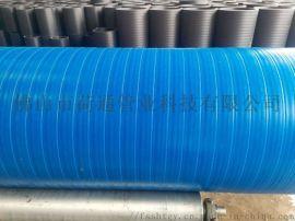 直销HDPE三层壁复合增强管