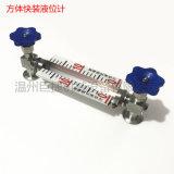 快裝式帶鋁板刻度液位計 快裝液位計