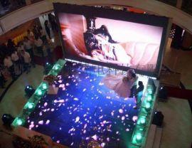 三亚酒店会议室地板屏幕-互动地砖屏 全彩屏定制厂家