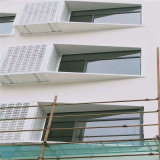 乌龟造型穿孔单板 创新街外墙造型穿孔铝单板