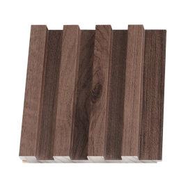 卧室背景墙 格栅 实木 现货木饰面墙板厂家