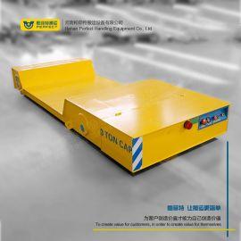电动平台升降车 可转弯蓄电池电平车 工业轨道平车