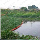 自然湖截断垃圾栏污装置浮筒浮筒