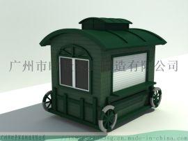 供应餐饮售 车,景区移动售 车,不锈钢台面售 车