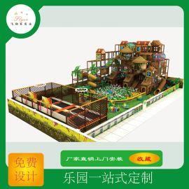 室内儿童乐园设备淘气堡定制儿童游乐场飞翔家直销