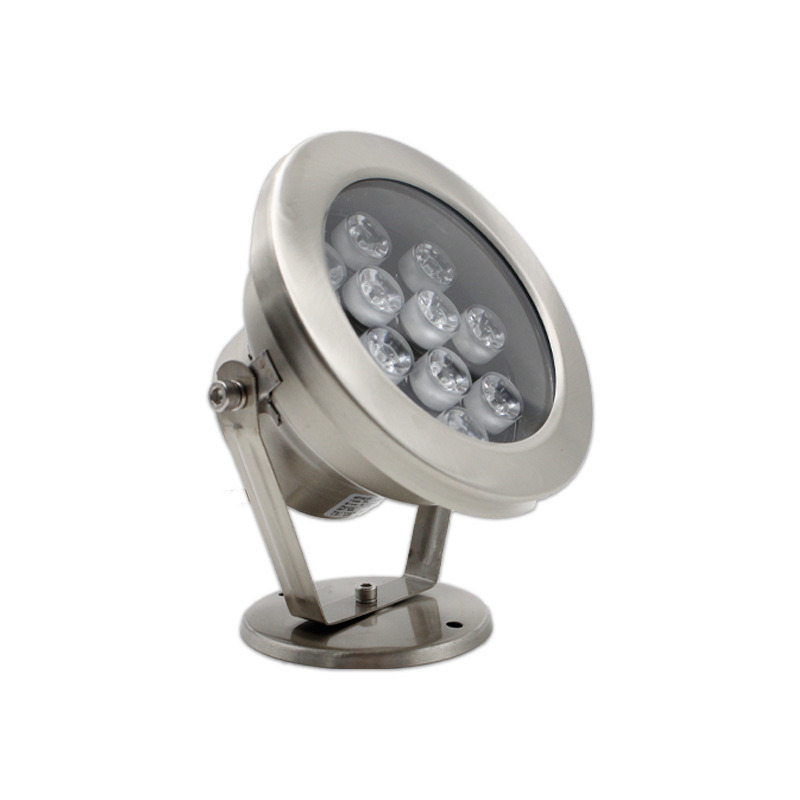 LED水底灯 防水水下灯水池景观灯 RGB喷泉灯