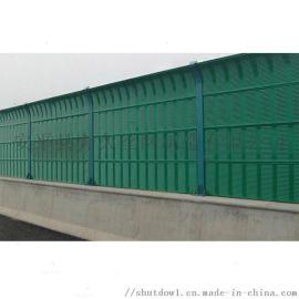 玻璃透明声屏障高速公路高架桥降噪防护隔音屏障