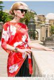 迪卡轩2020春装苎麻新款中长裙沈阳服装进货群