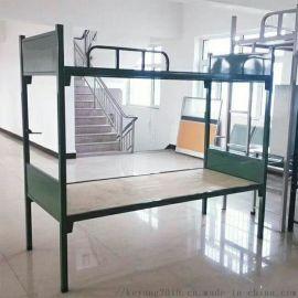 学生宿舍高低床生产厂家 工地宿舍高低床