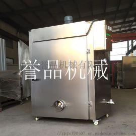 小鱼干烘烤糖熏机器-家禽烟熏炉蛋制品糖熏机-糖熏机