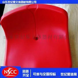 厂家直供 中空吹塑座椅 体育馆室外塑料看台座椅