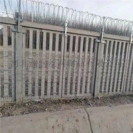 厂家直销监狱防护镀锌刀片刺网 刺丝滚笼 现货销售