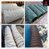 散装机水泥伸缩布袋加厚耐磨帆布颗粒粉尘卸料布袋