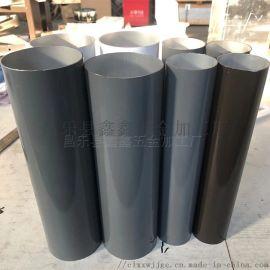 山东滨州阳光房用排水管 铝合金雨水管落水管可安装