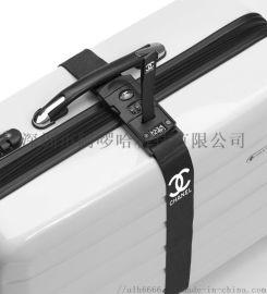 称重箱包行李带 密码锁捆绑带 电子称重行李带