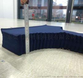 布料皮革多层智能沙发裁剪机 多层复合柔性材料裁床 切割机