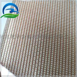 乾卓玻璃夹金属丝网 彩色壁布金属网 金属壁布