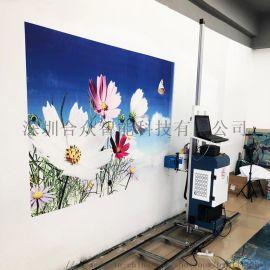 墙体喷绘机好用吗?3d墙体打印机、创业项目