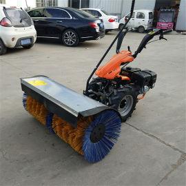 华科厂家 路面用全齿轮扫雪机 电启动小型扫雪机