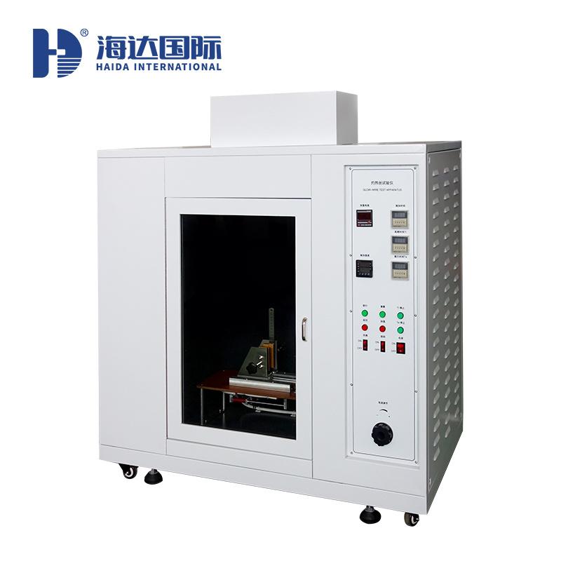 广东海达灼热丝试验仪 燃烧性灼热丝试验仪