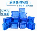 黔西南【周转箱物流箱】蓝色塑料箱零件箱厂家批发