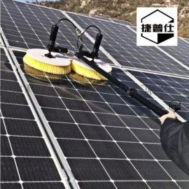 光伏板清洗机太阳能光伏板清洗机器人