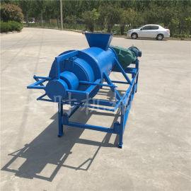 养殖场小型干湿分离机多少钱 牛粪猪粪固液分离脱水机
