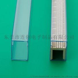 不卡料IC套管PVC包装管适合包装连接器芯片等产品