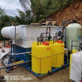 湖北黄冈养猪场污水处理设备 气浮过滤一体机竹源销售