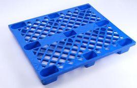 货物堆放塑料卡板_九脚塑料栈板_超市货物堆放卡板