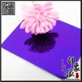 供應上海304鏡面紫羅蘭不鏽鋼裝飾板材