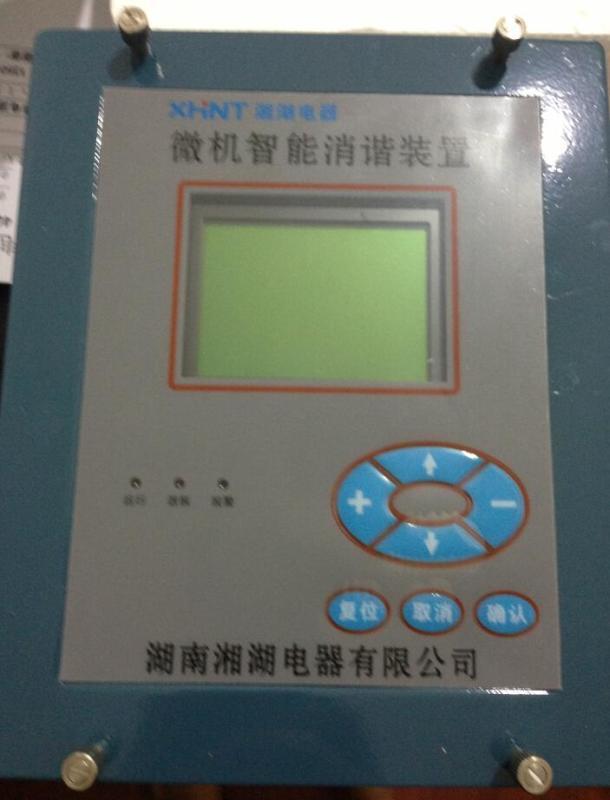 湘湖牌YBYTU600无功补偿控制器接线图