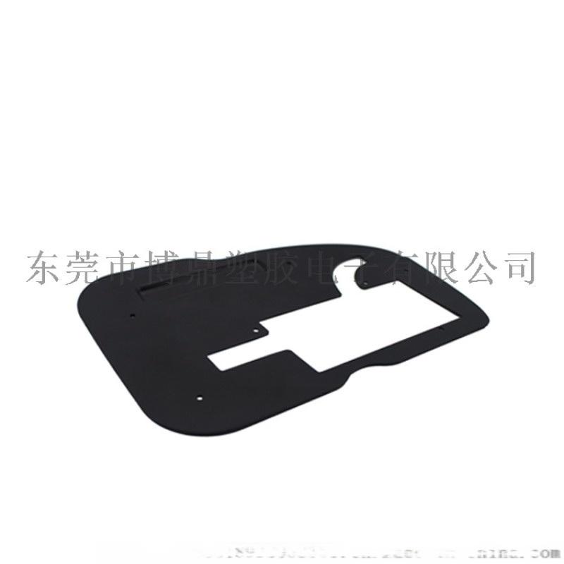 厂家加工耐高温易折弯绝缘片 高品质黑色绝缘垫片