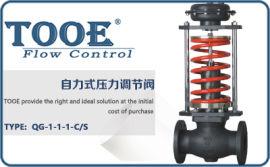 进口自力式压力温度流量调节阀 美国图尔自力式控制阀