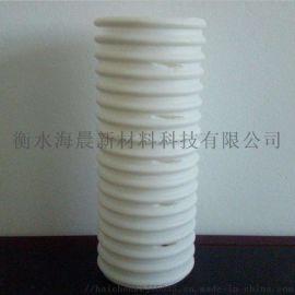 打孔波纹管白色隧道用单双壁波纹管PVC打孔波纹管