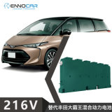 適用於豐田Estima大霸王鐵殼油電混合動力電池