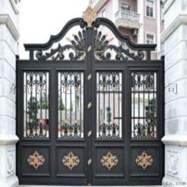 菏泽铝合金庭院大门铝艺围墙护栏质量