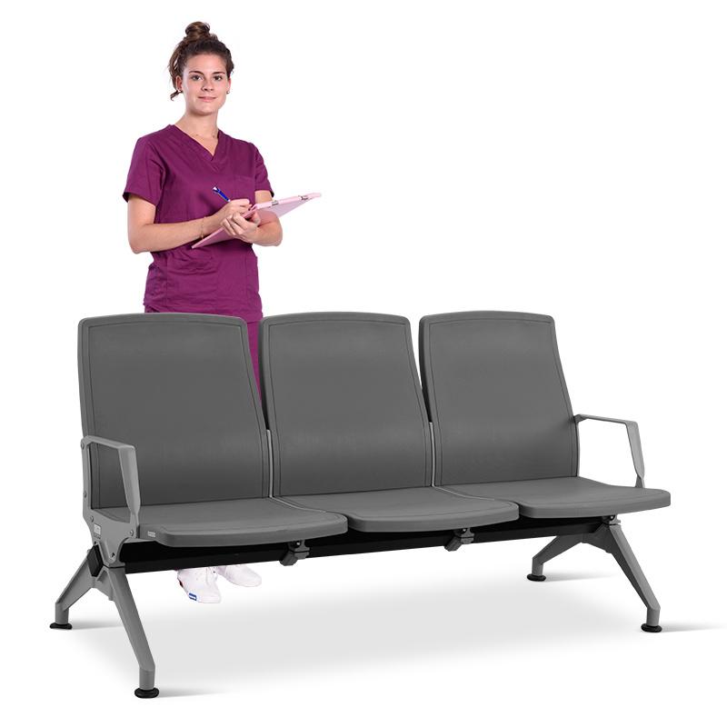 SKE006-1候診椅 機場椅 候車椅 銀行等候椅