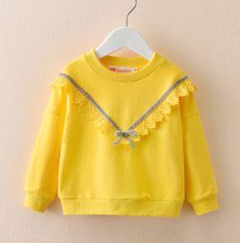 女童打底衫宝宝长袖t恤春秋2020新款韩版洋气童装薄款纯棉上衣潮