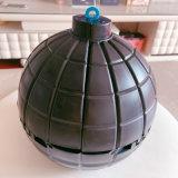 黑色炸開圓形蛋糕烘培模具容器生日創意惡搞驚喜神器