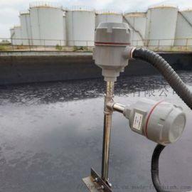 池子中油水界位测量