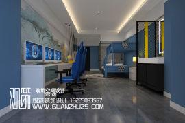 郑州创意电竞酒店装修公司河南电竞酒店装修设计