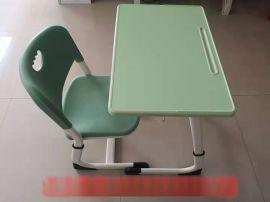 厂家直销ABS环保升降学生课桌椅培训班辅导班桌椅
