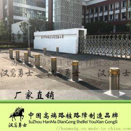 南京欧式升降柱反恐路桩不锈钢地柱