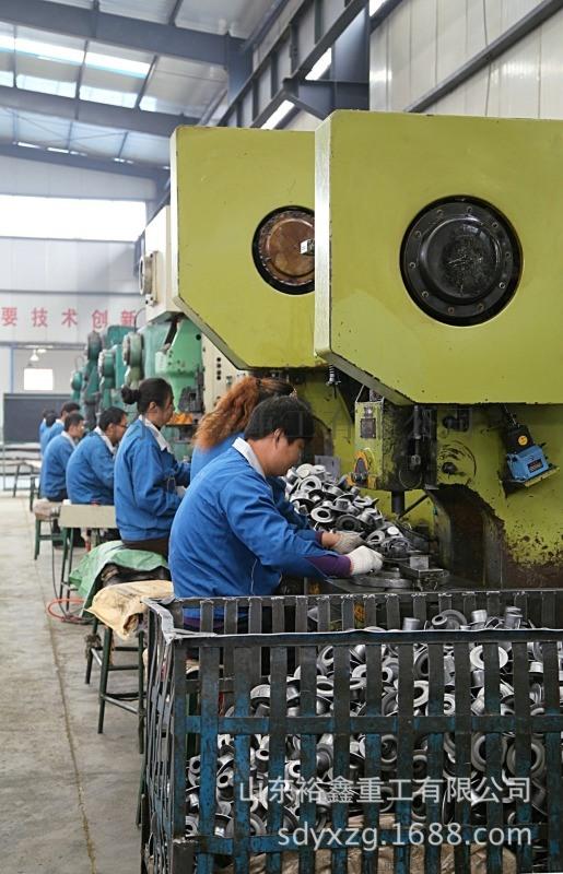 山東裕鑫重工來圖定製各型號託輥軸承座