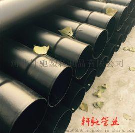 青岛热浸塑钢管165生产厂家高防腐电力保护管规格