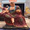 彩繪玻璃鋼十八羅漢佛像;木雕十八羅漢廠家