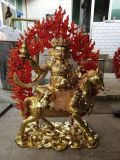 藏佛长寿佛铜雕白度母 绿度母 河北藏佛厂