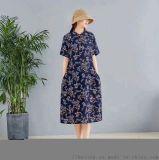 卡尼欧杭派女装年轻时尚淑女风连衣裙品牌折扣尾货市场